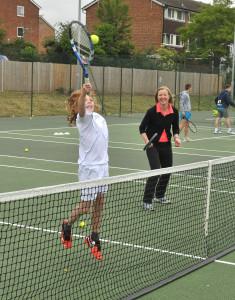Brightwell Tennis Club opening, Farnham. 2015